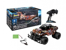 Revell Control 24533 RC Car Pick Up Wolf Pack, 2.4GHz, Akku ferngesteuertes Auto, Mehrfarbig, 35 cm - 1
