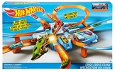 Hot Wheels DTN42 Action Criss Cross Crash Trackset, motorisiertes Auto Looping Spielset mit Parkplätzen inkl. 1 Spielzeugauto, ab 6 Jahren - 7