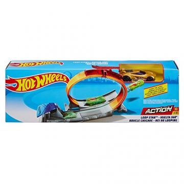 Hot Wheels FTH82 - Classic Stunt Looping-Held Set - 4