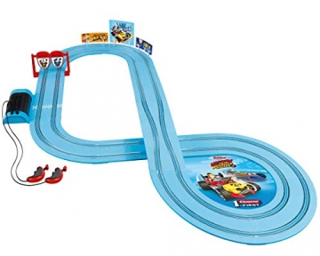 Carrera FIRST Mickey and the Roadster Racers 2,9 Meter 20063030 ab 3 Jahren Mickey Mouse Vs. Donald Duck - 2