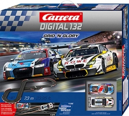 Carrera DIGITAL 132 Grid 'n Glory 20030010 Autorennbahn Set - 1